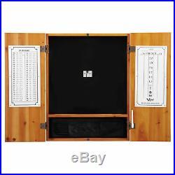 Viper Metropolitan Steel Tip Dartboard Cabinet