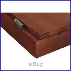 Viper Metropolitan Steel Tip Dartboard Cabinet Set Cinnamon Finish