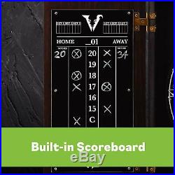 Viper Vault Deluxe Dartboard Cabinet With Integrated Pro Score And Cricket Score