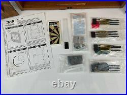 Vtg MARLBORO Country Store Regulation Dartboard With4 Sets Of Steel Tip Darts