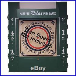 Widdy Original American Style Green Scoreboard Dart Board Frame Scorekeeper