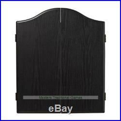 Winmau Darts Set (Black Cabinet, Diamond Dartboard and Darts)
