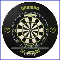 Winmau MvG Edition Diamond Dartboard with MvG Surround