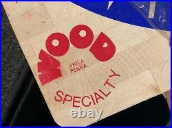 Wood Dark Shark Wood Dartboard Nos Basball