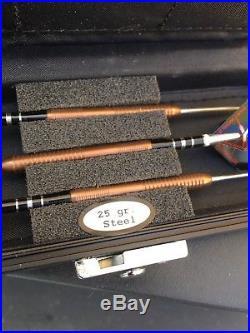 Xtreme Piranha Pro Tungsten Dart World Model 11220 25gr Steel Tip In Case. See